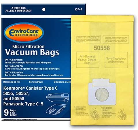 Kenmore C 5055 9pk Bags